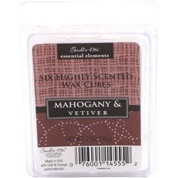 Candle-lite Essential Elements Wax Melts Essential Oil 2 oz 56 g - Mahogany & Vetiver