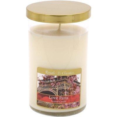 Candle-lite Royale Classics premium scented candle tumbler gold 17 oz 481 g - Love Paris