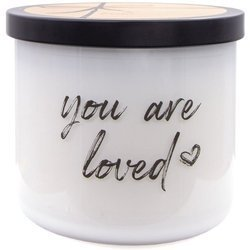 Colonial Candle Luxe large soy scented candle 3 wicks 14.5 oz 411 g - You Are Loved