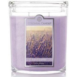 Colonial Candle large scented oval jar candle 22 oz 623 g - French Lavender