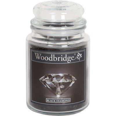 Woodbridge Scented Candle Large Jar 2 wicks 565 g - Black Diamond