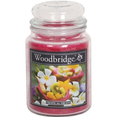 Woodbridge Scented Candle Large Jar 2 wicks 565 g - Tropical Fruits