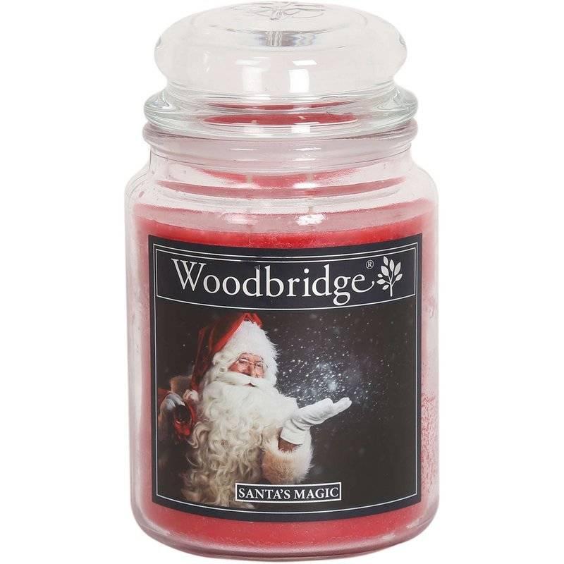 Woodbridge Scented Candle Large Jar 2 Wicks 565 G Santa S Magic Santa S Magic Cwstore B2b Wholesale Candle Distributor