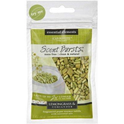 Candle-lite Essential Elements Scent Bursts papierki zapachowe do aromaterapii - Lemongrass & Coriander