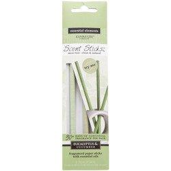 Candle-lite Essential Elements ScentSticks patyczki zapachowe papierowe naturalne z olejkami eterycznymi - Eucalyptus & Cucumber