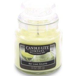 Candle-lite Everyday mała świeca zapachowa w szkle z pokrywką 95/60 mm 85 g - Key Lime Gelato