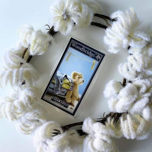 Woodbridge wosk zapachowy kostki 68 g - Clean Linen