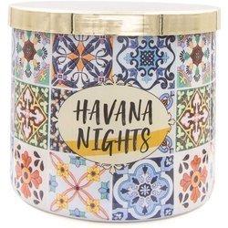Colonial Candle Luxe sojowa świeca zapachowa w szkle 3 knoty 14.5 oz 411 g - Havana Nights